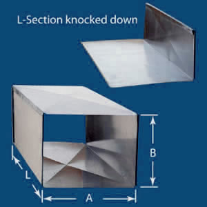 Galvanized Rectangular Duct Marstan Manufactures Pvs And